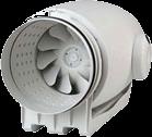 ventilatori centrifughi in linea compatti insonorizzati per installazione in controsoffitti o in spazi ridotti in qualsiasi posizione costruiti in